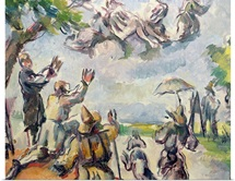 Apotheosis of Delacroix (oil on canvas)