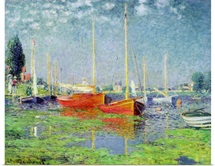 Argenteuil, c.1872 5 (oil on canvas) (see also 287548)