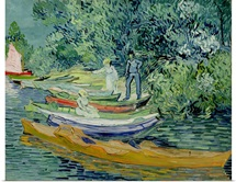 Bank of the Oise at Auvers, 1890