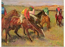 Before the Race, c.1882 (oil on panel)