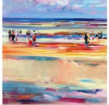 Boulevard de Boudin, 2001 (oil on canvas)