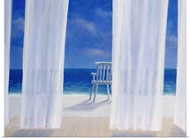 Cabana, 2005 (acrylic on canvas)