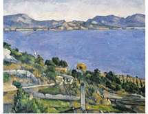 LEstaque, View of the Bay of Marseilles, c.1878 79 (oil on canvas)