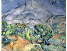 Mont Sainte Victoire, 1900 (oil on canvas)