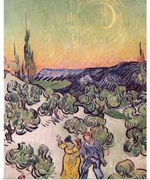 Moonlit Landscape, 1889 (oil on canvas)