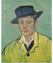 Portrait of Armand Roulin, 1888 (oil on canvas)