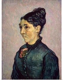 Portrait of Madame Jeanne Lafuye Trabuc, 1889 (oil on canvas)