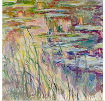 Reflections on the Water, 1917 (oil on canvas)