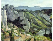 Rocks at LEstaque, 1879 82 (oil on canvas)