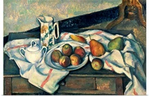 Still Life of Peaches and Pears, 1888 90 (oil on canvas)