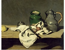 Still Life with a Kettle, c.1869 (oil on canvas)