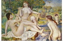 The Bathers, 1887 (oil on canvas)