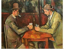 The Card Players, 1893 96 (oil on canvas)