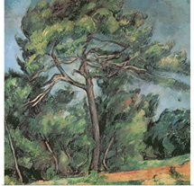 The Large Pine, c.1889 (oil on canvas)
