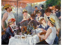 The Luncheon of the Boating Party, 1881 (oil on canvas)