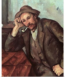 The Smoker, 1891 92 (oil on canvas)