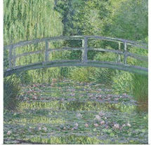 The Waterlily Pond: Green Harmony, 1899 (oil on canvas)