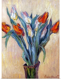 Tulips, 1885 (oil on canvas)