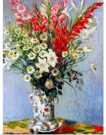 Vase of Flowers, 1878 (oil on canvas)