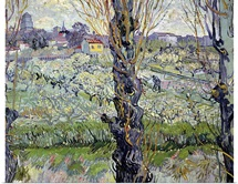 View of Arles, 1889 (oil on canvas)