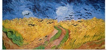 Wheatfield with Crows, 1890