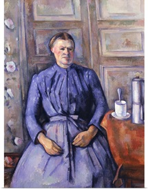 Woman with a Coffee Pot, c.1890 95 (oil on canvas)