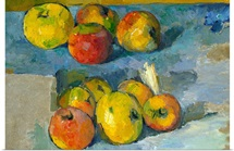 Apples By Paul Cezanne