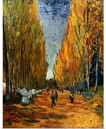 Avenue Of The Elysian Fields By Vincent Van Gogh