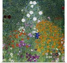 Farmer's Garden By Gustav Klimt
