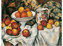 Apples And Oranges, By Paul Cezanne, Ca. 1895-1900. Paris, France