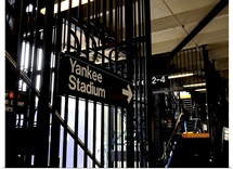 The Subway Station of Yankee Stadium in Manhattan