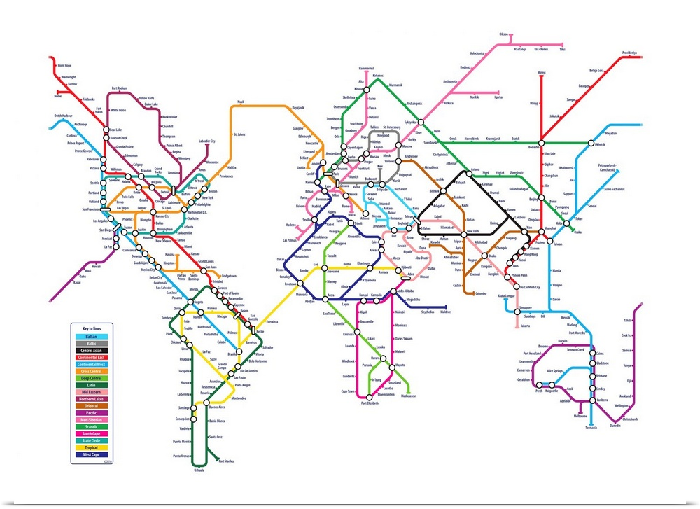Poster print wall art entitled world tube metro map ebay poster print wall art entitled world tube metro gumiabroncs Images