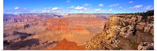 US, Arizona, Grand Canyon, view from south rim