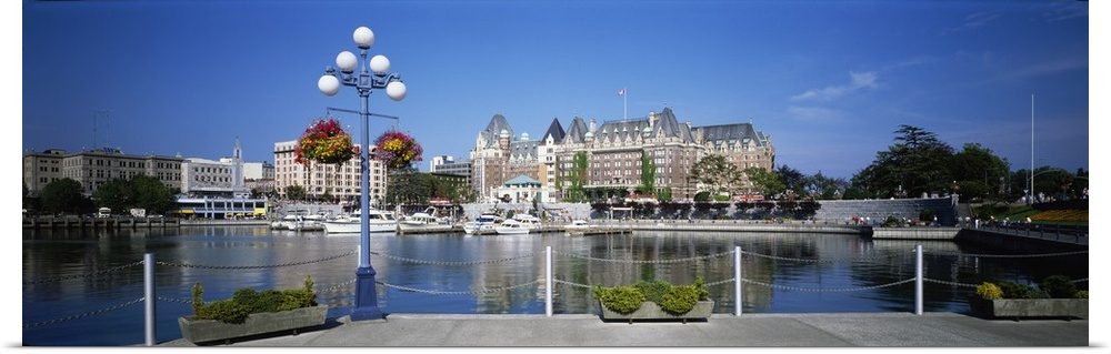 Poster Print Wall Art Entitled Victoria British Columbia