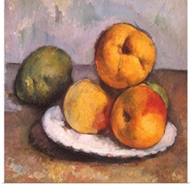 Still Life With Quince, Apples,