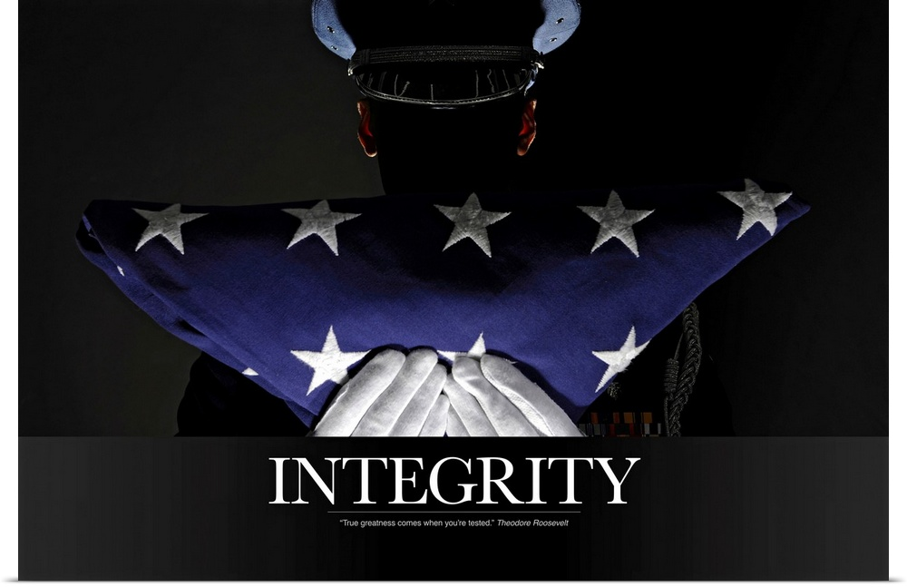 essays on integrity in the military Live up to army values the nation's highest military award is the medal of honor  integrity is a quality you develop by adhering to moral principles.