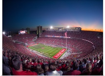 Game Night in Columbus, Ohio Stadium