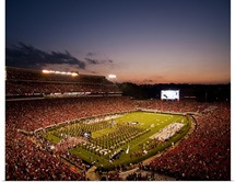 Georgia: Sunsets Over Sanford Stadium