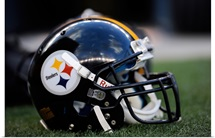 Pittsburgh Steelers Football Helmet