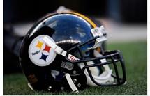Pittsburgh Steelers Football Helmet