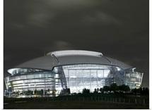 The Cowboys Stadium in Arlington, Texas