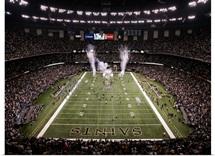 The Saints Enter the Superdome