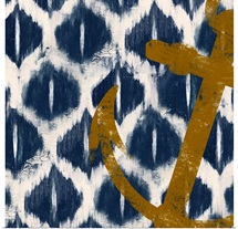 Nautical Ikat I