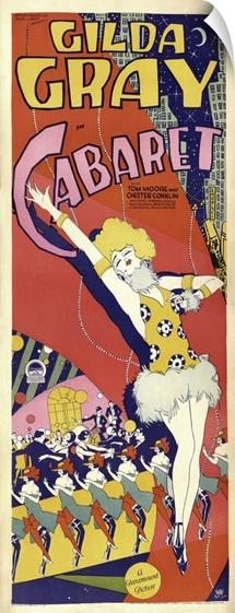 Gilda Gray - Vintage Cabaret Poster