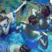 Blue Dancers, c.1899 (pastel)