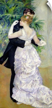 Dance in the City, 1883 (oil on canvas)