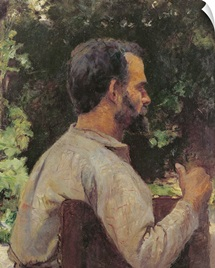 Head of a Man, Monsieur Etienne Devismes, 1882 (oil on canvas)