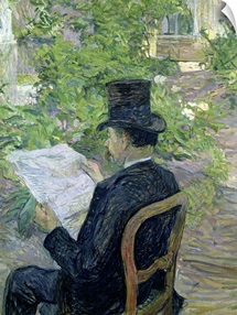 Monsieur Desire Dihau (1833 99) 1890 (oil on canvas)