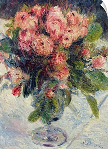 Moss Roses, c.1890 (oil on canvas)