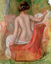 Nude in an Armchair, 1900 (oil on canvas)
